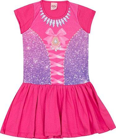Camisola Infantil Princesa Pink 5132