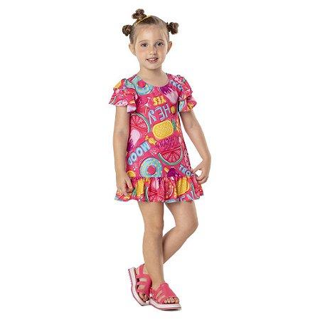Vestido Infantil Poo Party Mon Sucre 7092