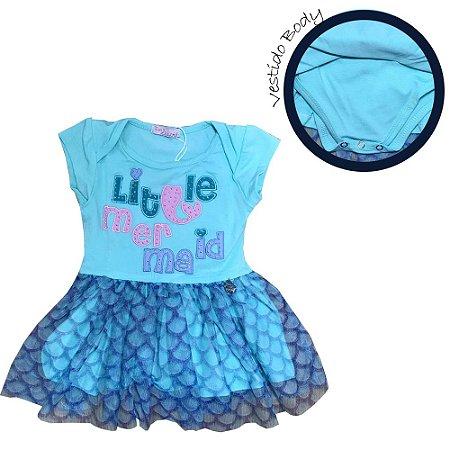 Vestido Body Infantil Sereia Mon Sucre 7058