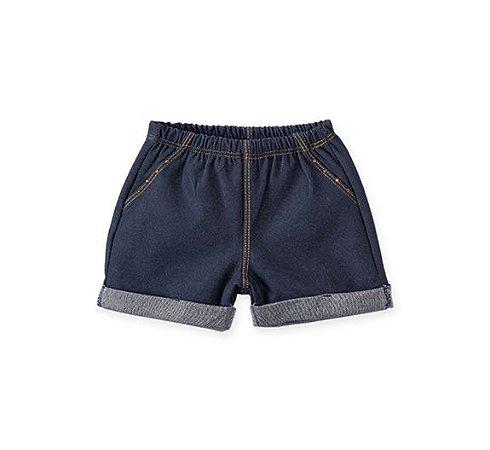Short Cotton Jeans Infantil Pingo Lelê 65918