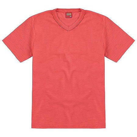 Camiseta Basica Lisa Coral Kyly 107630