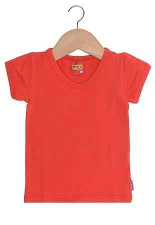 Blusa Básica Vermelho Kyly 106892