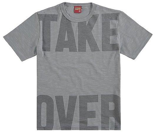 Camiseta Infantil Take Over Kyly 109251