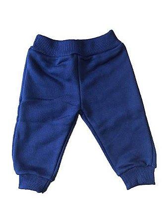 Calça Moletom para Bebê Azul 66255