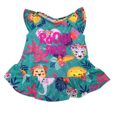 Vestido Body Safari Roar Mon Sucre 7046