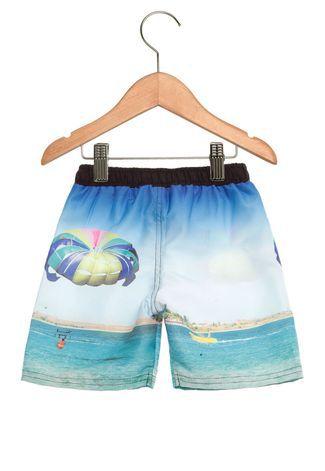 Bermuda Infantil Tactel Praia Kyly 107645