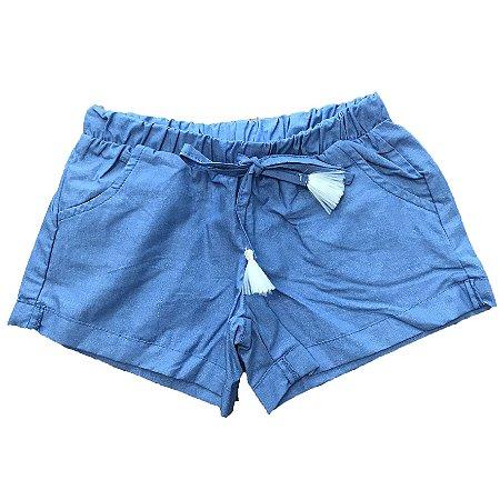 Short Cambray Pega Mania 82280 Azul Jeans