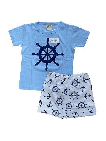 Pijama Infantil  Camiseta + Short  Pingo Lelê 85054