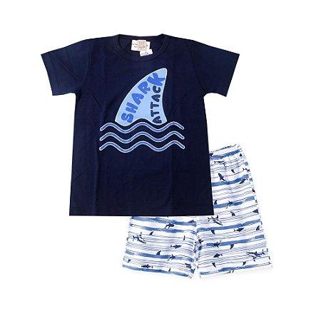 Pijama Infantil  Camiseta + Short  Pingo Lelê 86082