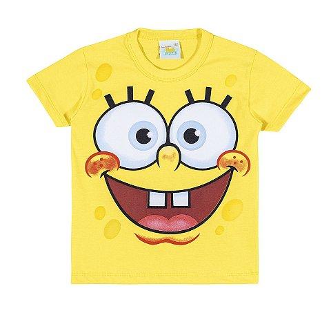 Camiseta Infantil Bob Esponja Kamylus 91709