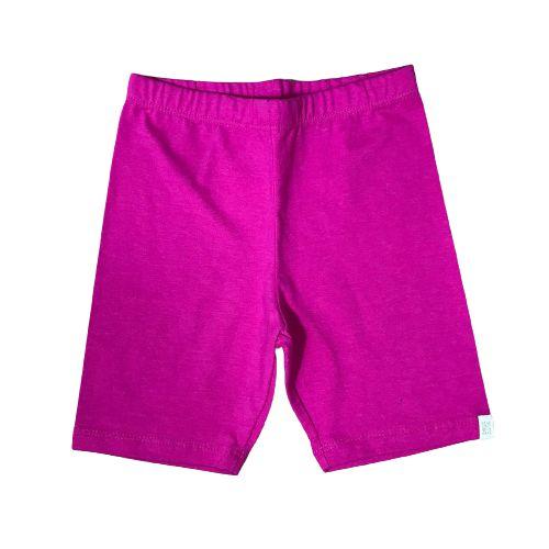 Short Infantil Cotton Ciclista Pega Mania 81454 Pink