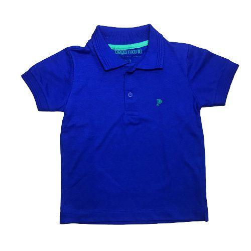 Camisa Polo Básica Pega Mania 35059 Azul Royal