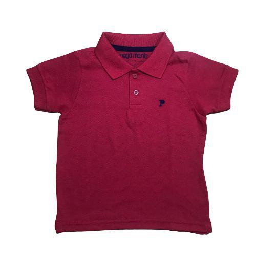 Camisa Polo Básica Pega Mania 35059 Vermelho