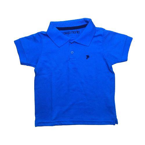 Camisa Polo Básica Pega Mania 35066 Azul Royal