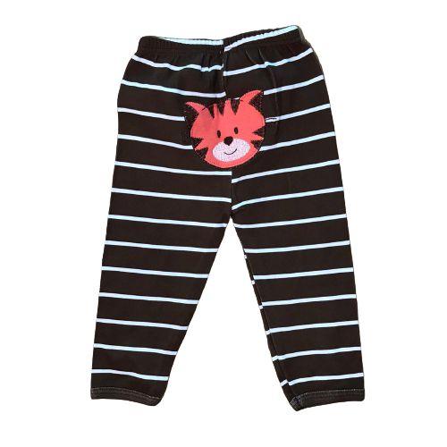 Calça em Suedine p/ Bebê Tigre Pingo Lelê 6548