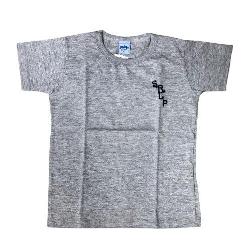 Camiseta Basica Infantil Serelepe 4538 Mescla