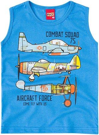 Regata Infantil Avião Azul Kyly 108915