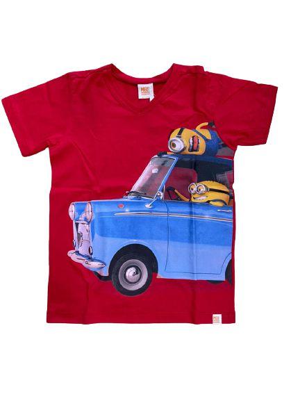 Camiseta Infantil Minions Vermelho Malwee 28759
