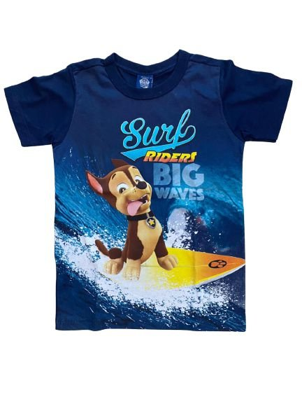 Camiseta Infantil Patrulha Canina Azul Malwee 32696