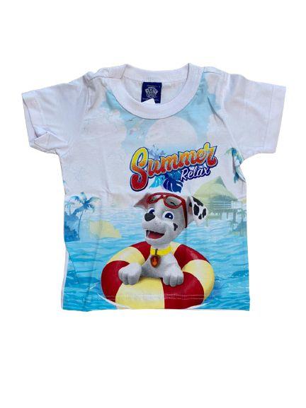 Camiseta Infantil Patrulha Canina Malwee 1000032696