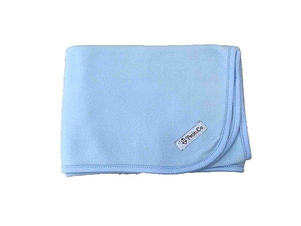 Manta em Soft  Azul Petit&Co 50901