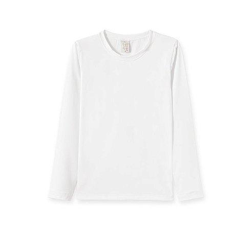 Blusa Térmica Infantil Pingo Lelê 9047 Branco