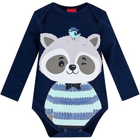 Body Bebê Cotton Guaxinin Kyly 207315