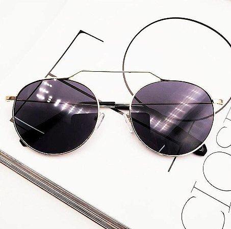 Óculos de Sol Amy (Preto com Dourado)