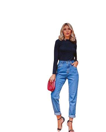 Calça Mom Jeans Vintage