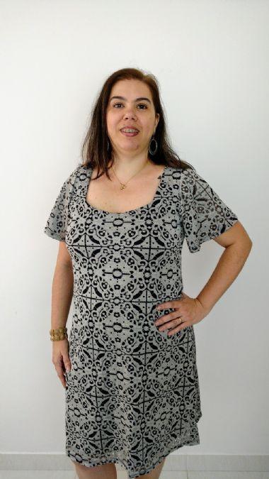 Vestido Plus Size Renda Luxo