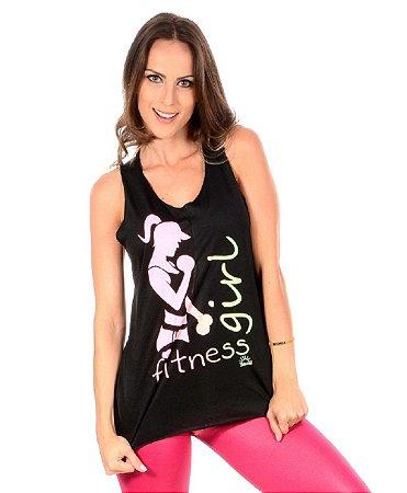 Regata Fitness Plus Size Várias Cores