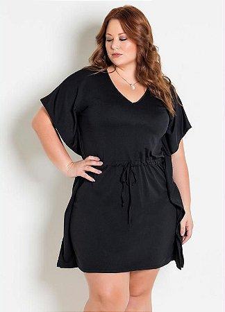 Estiloso Vestido Curto Plus Size Balada