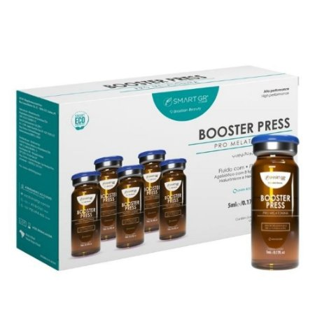 Smart Booster Press - Skinbooster Pro Melatonina - Intradermoterapia Pressurizada - Smart GR