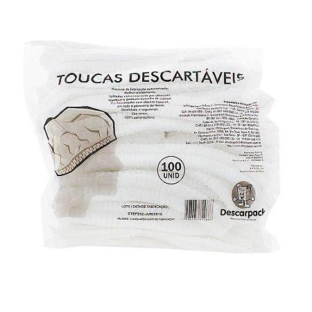 Touca Descartável (100 unidades) - Descarpack