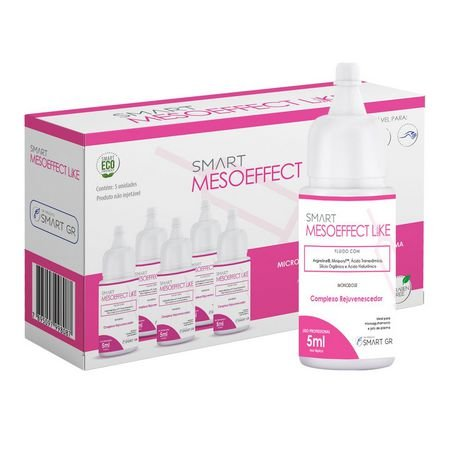 Smart Mesoeffect Like - Mesobotox Like - 5 Monodoses de 5 mL - Smart GR