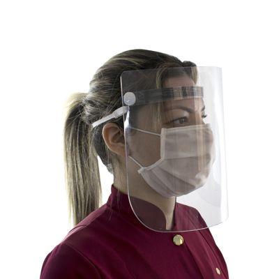Máscara Protetora Facial de Acrílico (Face Shield) – Salus Brasil