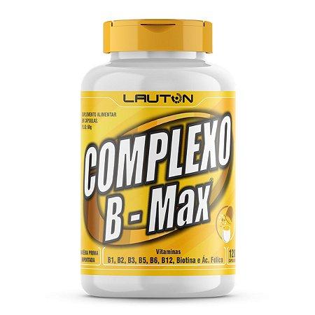 Complexo B Max - 120 Cápsulas - Lauton Nutrition