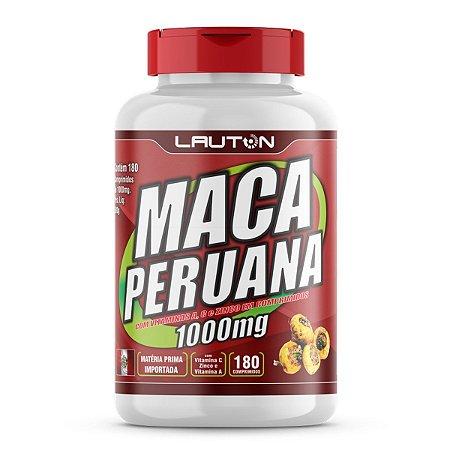 Maca Peruana 1000mg - 180 Comprimidos - Lauton Nutrition