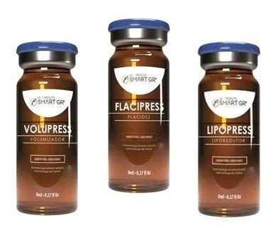 Kit Lipopress+Volupress+Flacipress 8ml cada Avulso