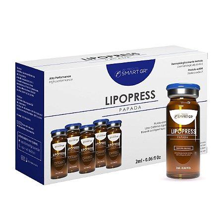 LIPOPRESS - Papada - 5 Frascos de 2 ml - Intradermoterapia - Smart GR