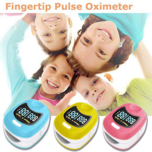 Oxímetro de Dedo Recarregável Contec CMS50QB