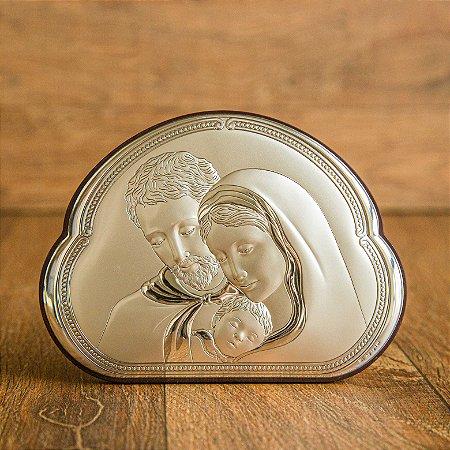 Adorno Italiano com a Bela Sagrada Família - (formato núvem)