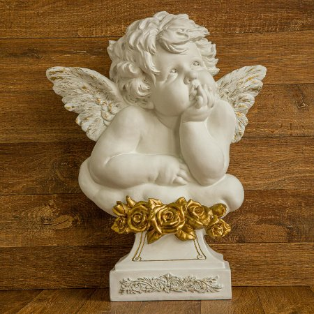 Anjo Floret Contemplação em Gold - G