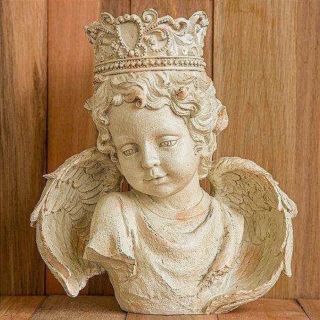 Busto Anjo Querubim Rei de Versalhes