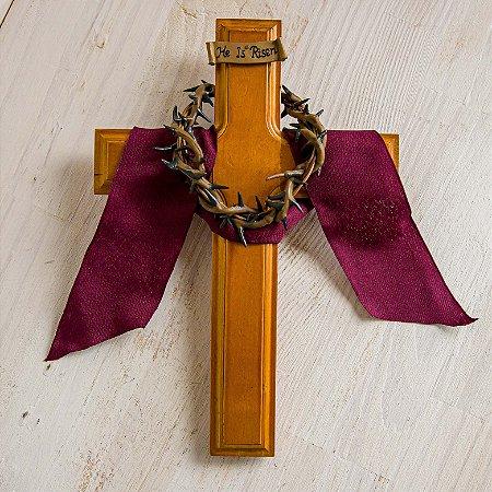 Crucifixo com Coroa de Espinhos