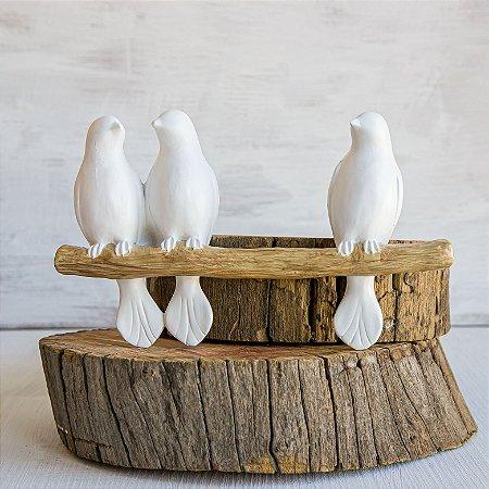Pássaros Léo,Mel e Bel para Parede