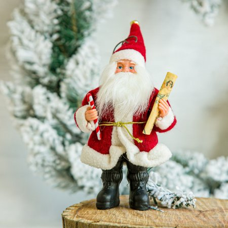 Papai Noel com Nota Musical
