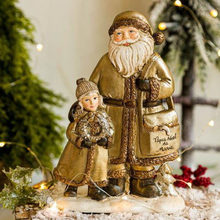 Papai Noel com Criança
