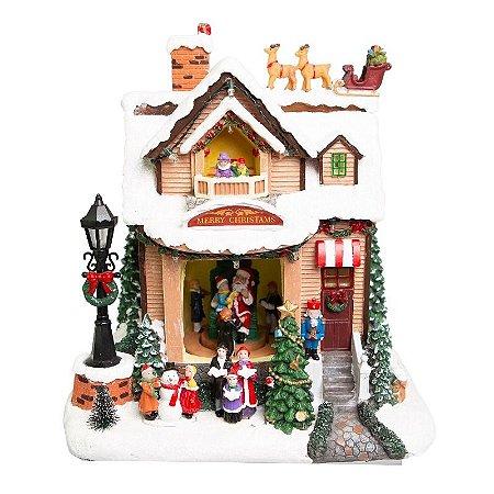 Vila de Natal Casa do Papai Noel