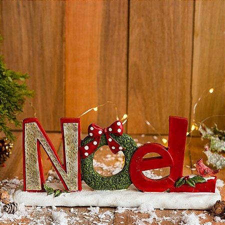 Placa Noel Decorativa de Natal
